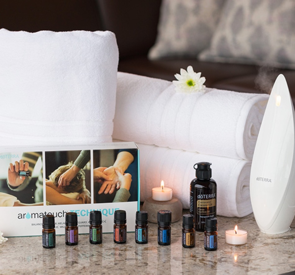 Introducing The dōTERRA AromaTouch Massage