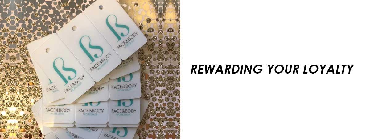 Rewarding Your Loyalty banner