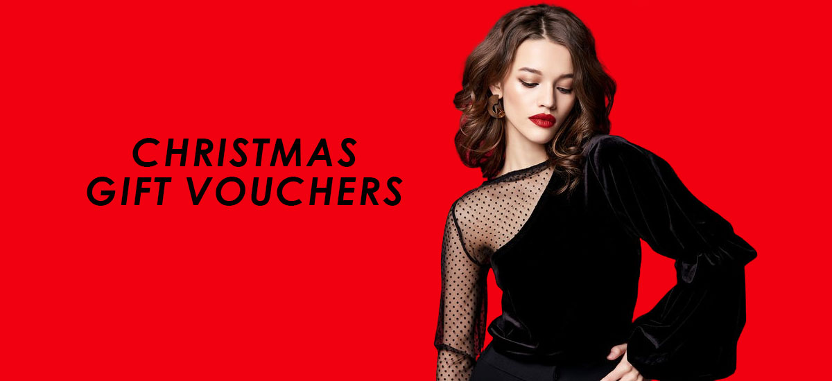 Christmas Gift Vouchers banner