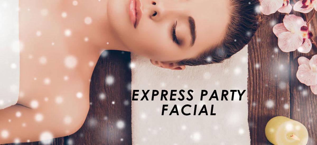 Express Party Facial banner